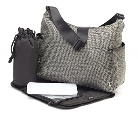 OiOi Changing Bag - The Hobo - Signature Weave Classic