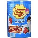 Chupa Chups Tubo de 100 Sucettes Lait (1,2 kg)