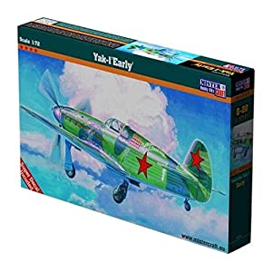 MisterCraft MCB20 - Reproducción a Escala 1:72 «Yak-1 Early Version», maqueta para Montar