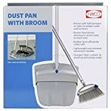 #8: MagnusDeal® Dust pan with broom