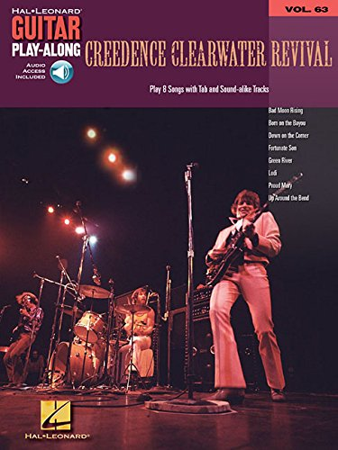 Guitar Play Along Volume 63: Creedence Clearwater Revival (Hal Leonard Guitar Play-Along)