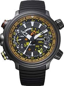 Citizen Herren-Armbanduhr XL Promaster Land - Altichron Analog Quarz Kautschuk BN4026-09E