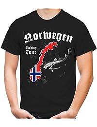 Norwegen Fishing Tour T-Shirt | Angeln | Dorsche | M1
