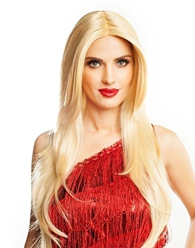 Goddessey Llc 38000BLDGD Red Carpet Blonde Adult Wig (Red Carpet Perücke)