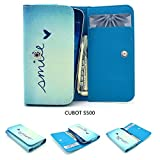 ZeWoo PU Leder Brieftasche für CUBOT S500 (5,0 Zoll)