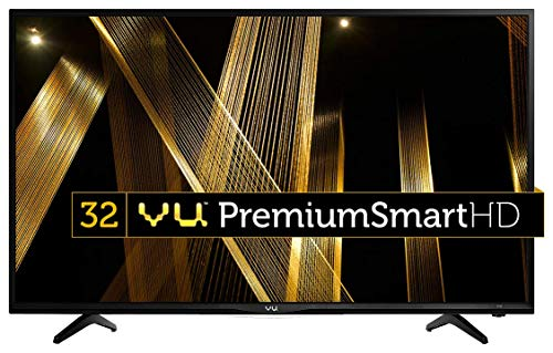 VU 32D6475 80cm (32 inches) HD Ready Premium WiFi Smart LED TV (Black) Television