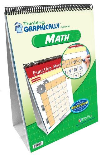 newpath Learning Denken grafisch über Math Flip Chart Set, Grade 1–7 (Set 7-charts)