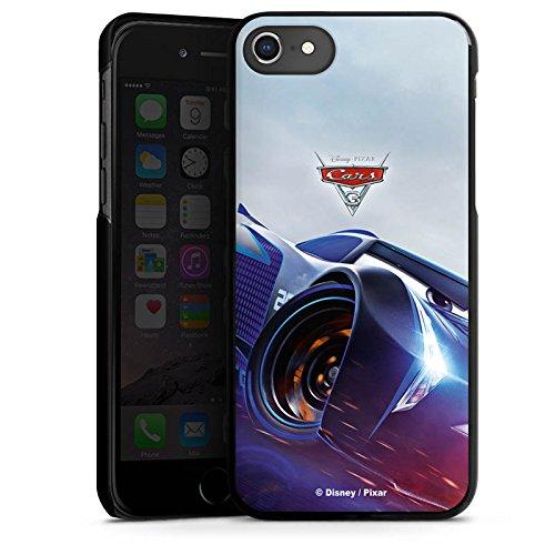 Apple iPhone 8 Silikon Hülle Case Schutzhülle Cars 3 Jackson Storm Disney Cars Hard Case schwarz