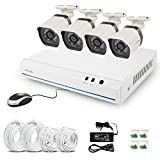 Best ZMODO DIY Security Systems - Zmodo ZM-SS78D9D4-S 4CH 720p HD G2 sPoE Security System Review