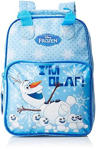 Little helper sac à dos avec sangles réajustable officiellement breveté du disney olaf frozen zainetto per bambini, 30 cm, blu (blue)