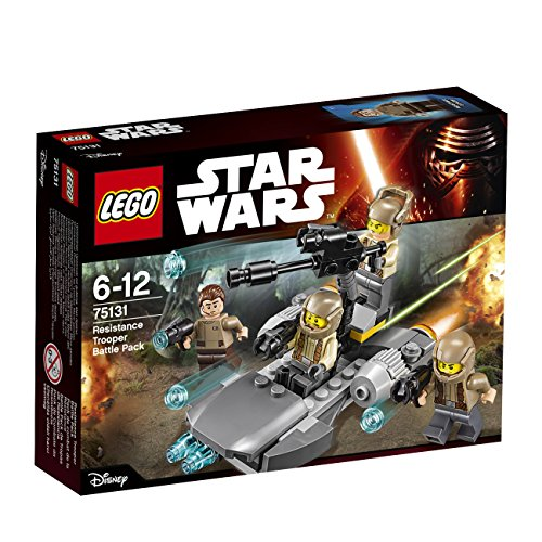 LEGO Star Wars 75131 - Resistance Trooper - 75131 Wars Star Lego Battle Pack Resistance