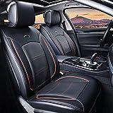 Lleno de cuero coche ventilación amortiguador soplo refrigeración calefacción masaje coche MAT,Black