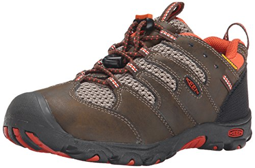 Keen Kinder Wanderschuhe Koven Low WP CASCADE BROWN/BURNT ORANG 32-33