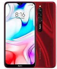 Xiaomi Redmi 8 Akıllı Telefon, 64 GB, Kırmızı
