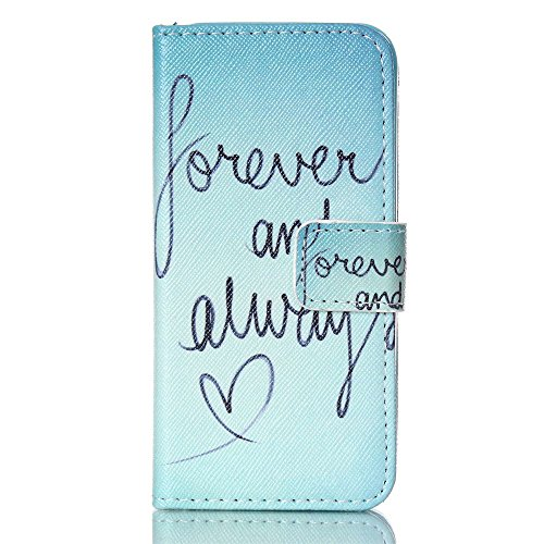 Nutbro iPhone SE Case, iPhone 5s Case, Wallet Style Case [Stand Feature] with Built-in Credit Card Slots Wallet Case for iPhone 5s / iPhone SE 77