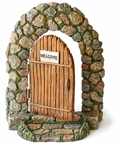 Marshall casa e giardino Welcome porta miniature Fairy Garden Accessori # MG17