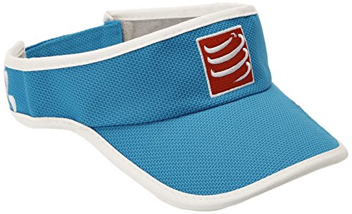 Compressport VIAZ - Visera unisex, color azul, talla única