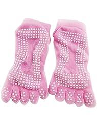 Bloque de yoga yoga, pilates Espuma ladrillo Stretch Salud Fitness ejercicio Herramienta Rosa Pink sock