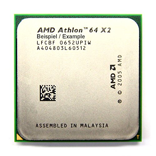 AMD Athlon 64 X2 5400+ 2.8GHz/1MB Sockel/Socket AM2 ADO5400IAA5DO Dual-Core CPU (Generalüberholt)