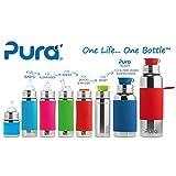 Pura Kiki Trinklernflasche – 325ml – XL Trinklernaufsatz (inkl. Schutzkappe) Pura Farbe/Design Blank, ab 12 Monate - 3