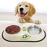 PAWZ Road, Doppel-Fressnapf für Hunde und Katzen - in zwei Größen erhältlich