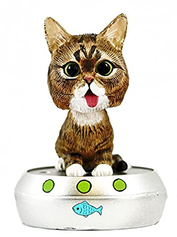 Lil BUB Talking Resin Bobblehead