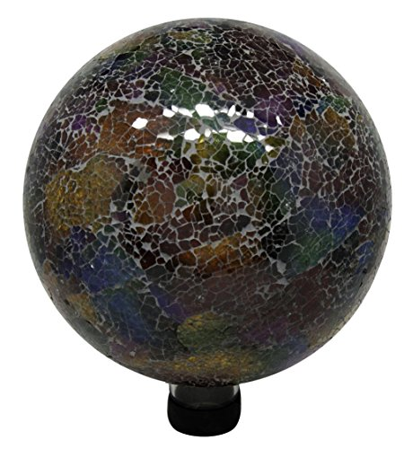 10in Mosaic Gazing Ball Multicolor