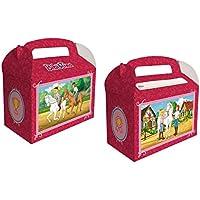 6 Geschenkboxen * BIBI U0026 TINA * Für Kinderparty Und Kindergeburtstag Von  DH Konzept /