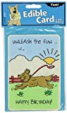 Crunchkins Edible Crunch Card, Birthday, Unleash The Fun