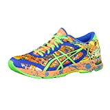ASICS Gel Noosa Tri 11 Hot Orange Green Gecko Electric Blue 48
