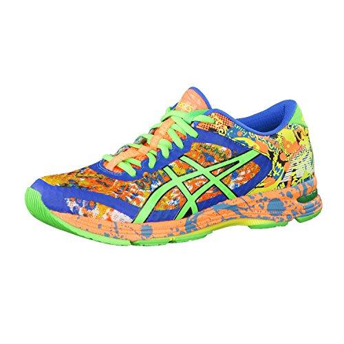 Asics Gel-Noosa Tri, Scarpe da corsa da uomo, Arancione / Verde / Blu elettrico, T626N 3085, UK 12