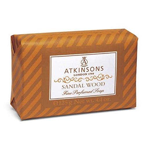 Preisvergleich Produktbild Atkinsons–Ende Perfumed Soaps Seife Sandal Wood 125gr