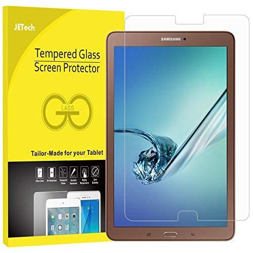 pellicola tablet samsung tab e JETech Pellicola Protettiva per Nuovo Samsung Galaxy Tab E 9.6 in Vetro Temperato