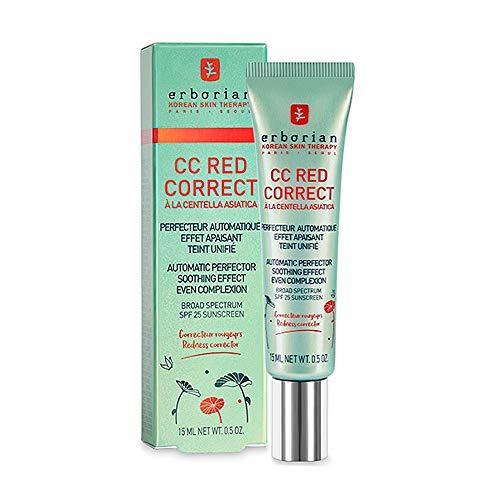 Erborian Korean Skin Therapy Paris Seoul CC Red Correct CC Red Correct Creme 15 ml