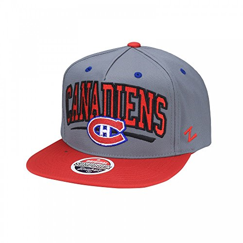 Zephyr NHL MONTREAL CANADIENS Phenom Snapback Cap (Canadiens Caps Montreal)