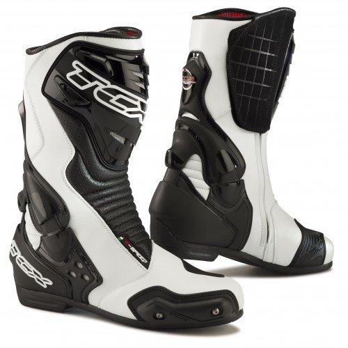 TCX-Stivali moto-TCX S-Speed Nero/Bianco-44