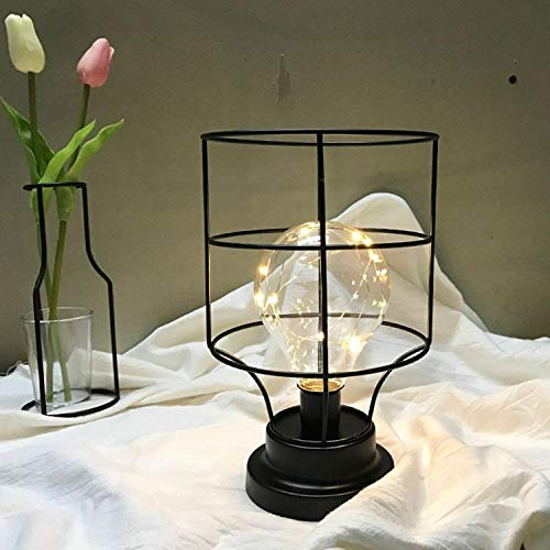 Candelabro lámpara mesa hierro forjado diamante candelabro