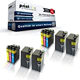 10x kompatible XXL Tintenpatronen für Epson Workforce WF 3600 WF 3620 DWF WF 3620 WF 3640 DTWF Series Black Cyan Magenta Yellow - Easy Pro Serie