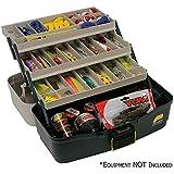 Plano Molding 5300-06 Tackle Box, 3-Tray, Green/Sandstone