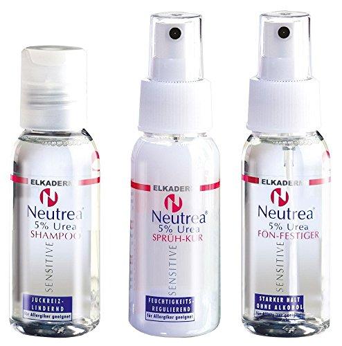 Elkaderm Neutrea Plus Mini-Set für unterwegs, (3x 50 ml)