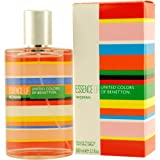 Benetton Essence Woman Eau de Toilette Spray für Frauen 100 ml
