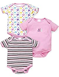 1205f3d26 Amazon.in  Pink - Bodysuits   One-Pieces   Baby Boys 0-24m  Clothing ...