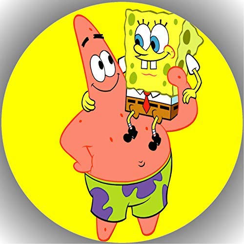 Fondant Tortenaufleger Tortenbild Geburtstag Spongebob T9