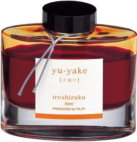 Namiki Iroshizuku Füllfederhalter, Flasche, Chiku-rin burnt orange (Füllhalter Namiki)