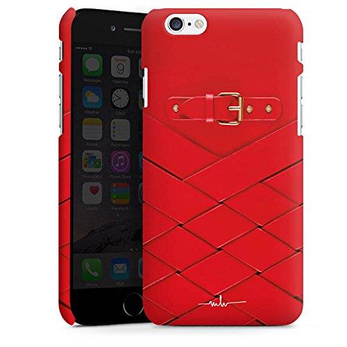 Apple iPhone 8 Tasche Hülle Flip Case Schnalle Ruby Fashion Mode Premium Case matt