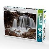 Ein Motiv aus dem Kalender Kuhflucht Wasserfälle bei Farchant 1000 Teile Puzzle quer (CALVENDO Natur)