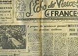 L'ECHO DES VIEUX DE FRANCE- 19°ANNEE - N°232 - INITIATIVES DIVERSES POUR LES JOURNEES D'ACTION - PROLONGER L'ACTION PAR UNE GRANDE CAMPAGNE DE RECRUTEMENT...