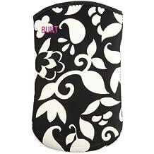 BUILT E-KS5-FVE - Funda calcetín de neopreno para tablets de 7 '', diseño, con vid blanca, color negro