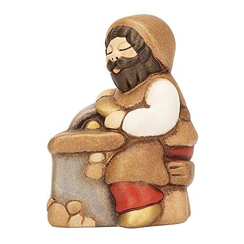 Thun arrotino presepe classico, ceramica, variopinto