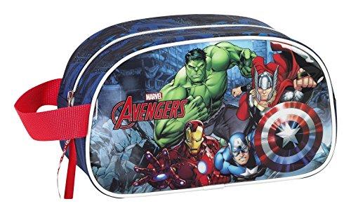 Safta Avengers Neceser, Color Azul Marino
